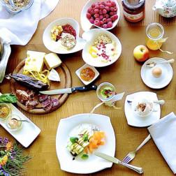 Frühstück aus regionalen Zutaten, Herkunft die man schmeckt