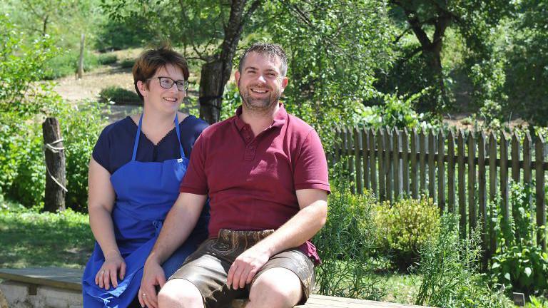 Sonja und Didi Klancnik vom Arlitscherhof