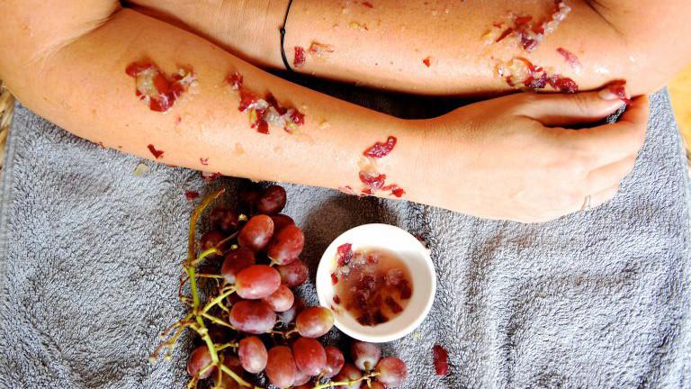 Trauben-Hautpflege byDavidson
