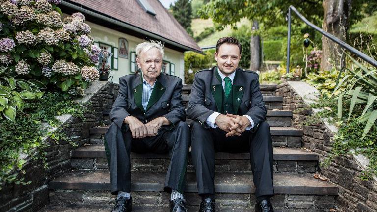Hans und Manuel Koller, Weingut Koller, Schliche