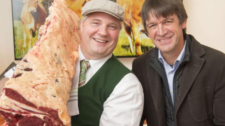 Steirische Rinderzüchter bilden jetzt zusammen mit Fleischhauern eine Phalanx gegen Rindfleisch-Billigimporte