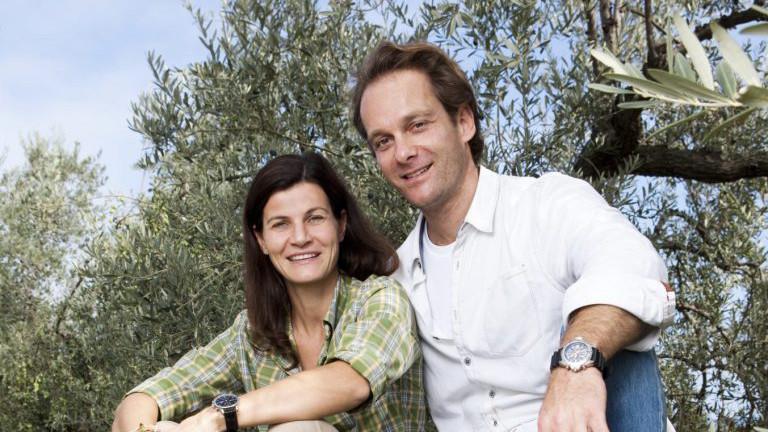 Margit und Richard Schwerer von Noan Olivenöl