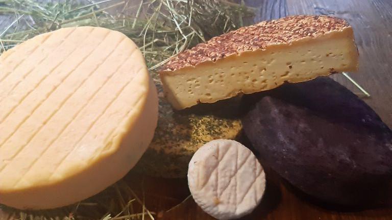 Dreierlei Käse