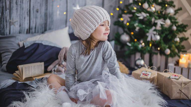 Kind zu Weihnachten