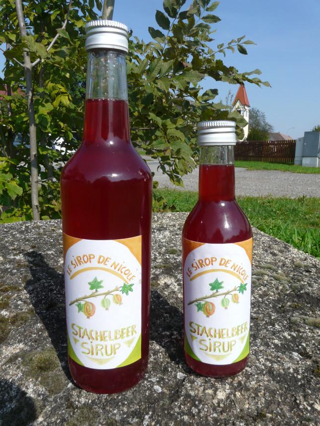Stachelbeer-Sirup