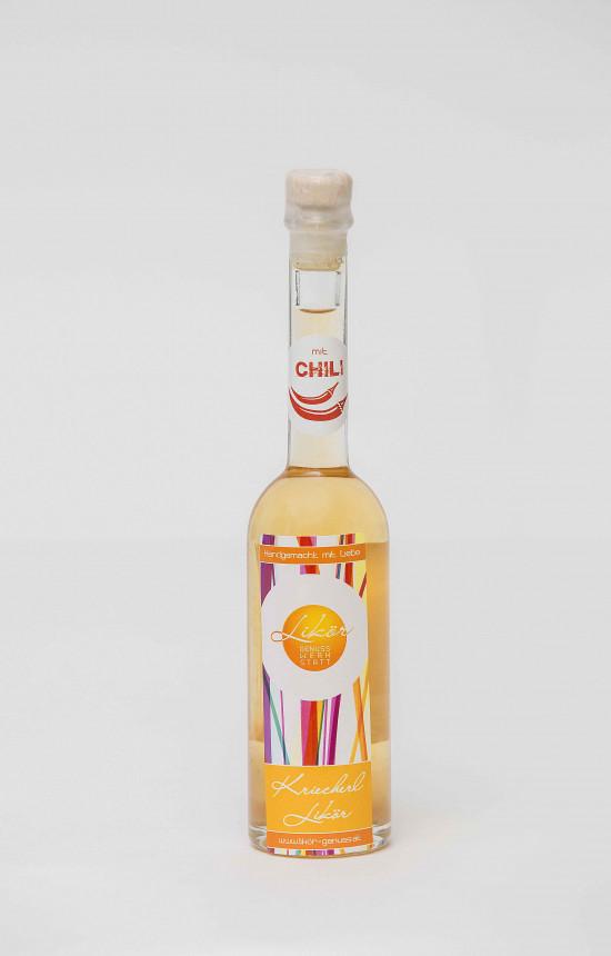 Kriecherl-Chili Likör
