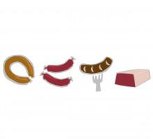 Wurstwaren, Schinken und Pasteten
