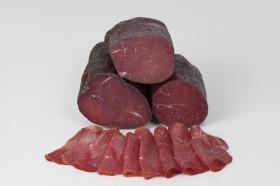Mühlstätter Henkele (Rinderrohschinken) 900g halbe Stücke