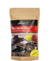 Bio Apfelchips mit Edelbitterschokolade 100g