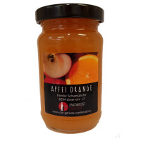 Apfel Orange Fruchtaufstrich