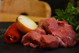 Gulaschfleisch vom Angus Rind