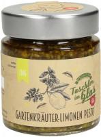 Gartenkräuter Limonen Pesto