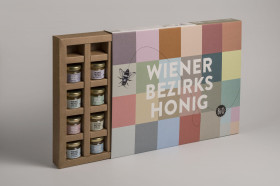 Wiener Bezirkshonig - Degustationsbox
