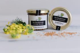 eingelegte Bio-Senfkörner in würziger Essig-Honig Marinade - aus dem Mühlviertel
