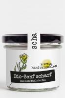 handvermahlener Bio-Senf scharf aus dem Mühlviertel