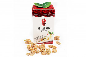 APPLETINIES - Bio weiße Schokolade mit Vanille