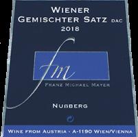 """Wiener Gemischter Satz """"NUßBERG"""" 2o18"""