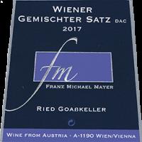 """Wiener Gemischter Satz """"Ried GOAßKELLER"""" 2o17"""