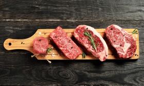 Mischfleischpakete vom Texas Longhorn:Angus Rind