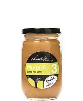 Zutaten:Bio-Birnen, Bio-Zucker, Bio-Birnensaft, Zitronensäure, Bio-Zimt