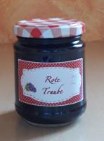 Rote Trauben-Marmelade