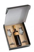 Nusslikör klassisch & Digestif-Gläser-Set