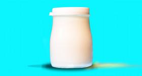 Ziegenmilch-Joghurt aus Rohmilch
