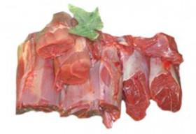 Rehwildfleisch für Gulasch