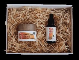 Gesichtscreme & Pflegeöl Haselnuss inkl. Geschenkbox