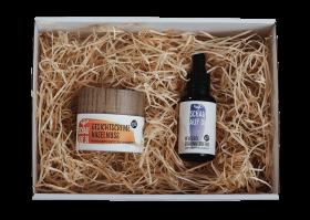 Gesichtscreme & Pflegeöl Johannisbeere inkl. Geschenkbox