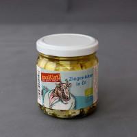 Bio Ziegenkäse-Würfel in Öl aus Rohmilch