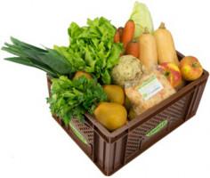 Regionales Gemüse & Obst - Kistl groß