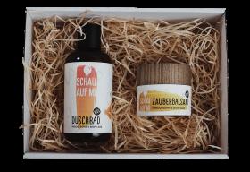 Zauberbalsam & Duschbad Kids inkl. Geschenkbox