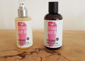 Körperöl & Duschbad - Spür die Göttin