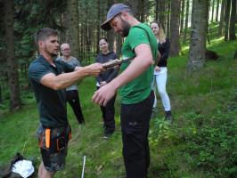 Waldpädagogik für Erwachsenengruppen