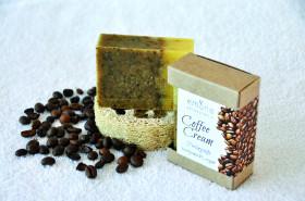 Coffee Cream (Kaffeeseife, Peelingseife)