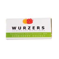 Wurzers Kürbiskern-Nougat-Vollmilchschokolade