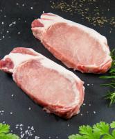 Karreesteak geschnitten (vom Schwein)