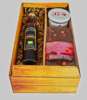 Cherry-Chili-Likör, Schoko & Kuchen im Set - inkl. Versand