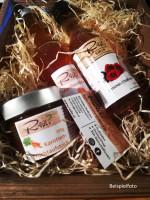 Geschenk-Packung: Karotte, Marille, Rosenblüten