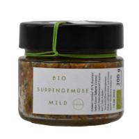 Bio Suppengemüse mild