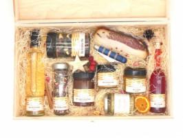 Geschenkset Nr. 30 Mühlviertler Bio Kistl groß