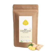 Bio Zahnpulver Ingwer Refill