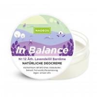 Natürliche Deocreme Lavendel