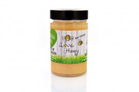 bee happy - love honey Honig