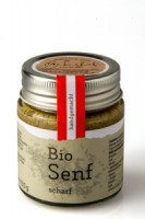 Bio-Senf scharf