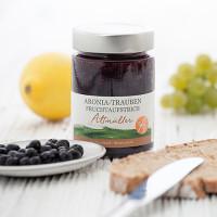 Aronia-Trauben Fruchtaufstrich