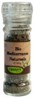 Mediterranes Natursalz in der Gewürzmühle