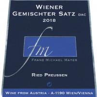 """Wiener Gemischter Satz """"Ried PREUSSEN"""" 2o18"""