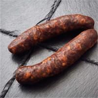 Büffel Chili Hauswürstl